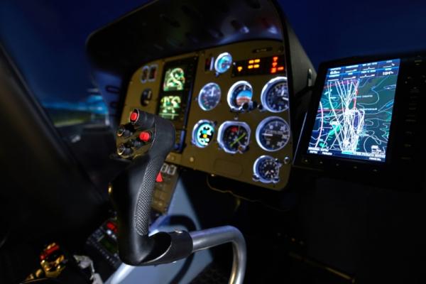 Hubschrauber Nachtflug