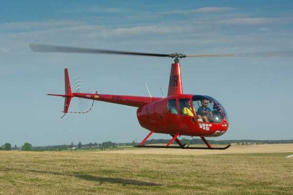 30 Minuten Rundflug mit dem Hubschrauber