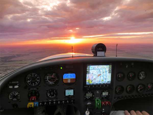 45 Minuten Sunsetflug mit dem Flugzeug