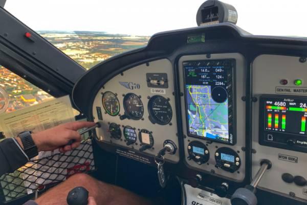 Rundflug mit dem Flugzeug über Leipzig und Umgebung
